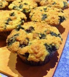 Ms. Cave Woman Blueberry Muffins 2